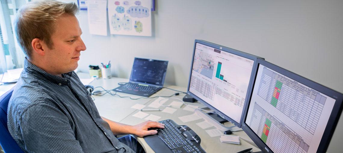Digitaaliset työkalut helpottavat sisäolosuhteiden kontrollointia